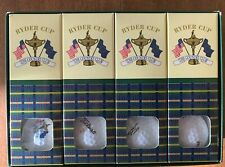 RYDER CUP MATCHES 1999 GOLF BALLS 33RD THE COUNTRY CLUB  FULL BOX (12 BALLS) NEW