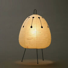 "AKARI w/ ISAMU NOGUCHI Light Lamp Shade Washi ""Stand Light 1AD FULL SET"""