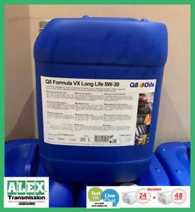 5w30 engine Q8 oils Formula Long Life 5w30 plastic cann 20L