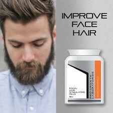 PRO-GROWTH MEN BEARD GROWTH PILLS FACIAL HAIR GROW THICK BUSHY BEARD FAST