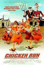 Chicken Run Movie Poster Original Ds 27x40 Animation maker of Wallace And Gromit