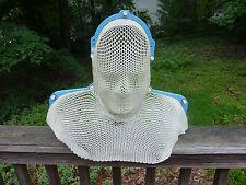 "Plastic mesh bust head and shoulders wall hanging art sculpture 23.5"" x 18.5"""