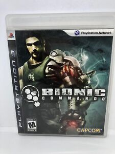 Bionic Commando (Sony PlayStation 3) PS3 Complete w/ Manual