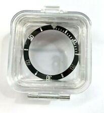 Swiss Made Black Silver Bezel Insert to fit Rolex Submariner 16800 315-16800-1