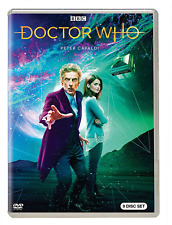 Doctor Who Tv Series Complete The Peter Capaldi Collection New 9-Disc Dvd Set