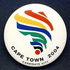 2004 CAPE TOWN Olympic Games BID PIN Badge CANDIDATE Olympics SOUTH AFRICA