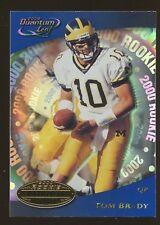 2000 Leaf Quantum #343 Tom Brady New England Patriots RC Rookie