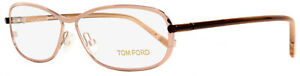 Tom Ford Eyeglasses TF5161 072 Size:56 Peach/Rose/Brown 5161