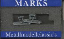 Marks Metallmodellclassics 4311 - Spur N - Schneepflug für SBB Traktor grau- OVP