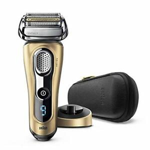 Braun Series 9 9299PS Electric Shaver Wet/Dry Premium Gold Edition, Man shaver
