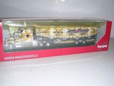 "Herpa Special Kenworth 10Wheel Cab w/45' Van Trailor ""erdgasXplorer"" H.O. 1/87"
