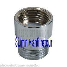 """Economiseur régulateur pour douche MF 15x21 1/2"""" 8 L/mn avec clapet anti retour"""