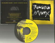 RICHARD MARX Keep Coming Back MIXES & 12 INCH & EDIT PROMO DJ CD Single 1991 USA