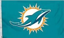 NFL Miami Dolphins Logo Flag with Grommets, 3x5 FT New, Free Shipping From China