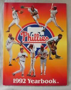 1992 Philadelphia Phillies Yearbook
