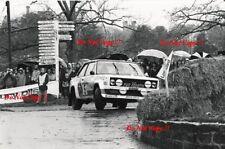 Walter Rohrl ALITALIA FIAT 131 ABARTH RAC Rally 1978 fotografia 2