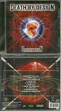 RARE / CD - DISCREATION : DEATH BY DESIGN / METAL / HARD ROCK