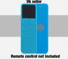 Brand New Apple Tv 4th Generation Siri Remote Blue Silicone Case  Uk Seller