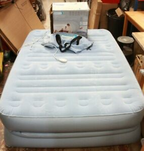 Aerobed Raised Double Air Bed Built-in Electric Pump Little Boxed - 250