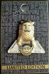 Hard Rock Cafe PONCE PR 2021 Grand Opening STAFF GOS PIN Lion LE 100 HRC #534051