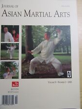 Journal of Asian Martial Arts Vol. 9 - No. 2 - 2000