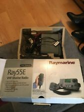 RAYMARINE VHF RADIO 55E COLOUR GREY DIRECT FROM RAYMARINE ITSELF ALL BOXED