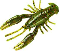"""5 Packs New YUM CrawBug Finesse Craw 2.5"""" Watermelon/Red Flake YCRB202"""