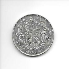 1953 Canadian 50 Cent coin Exceptional