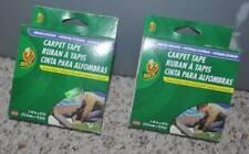 NIP-2 Rolls Duck Indoor Outdoor Carpet Tape 84Ft total