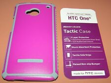 Body Glove Tactic Case HTC One M7, AT&T, Sprint, & T-Mobile, Raspberry/Gray