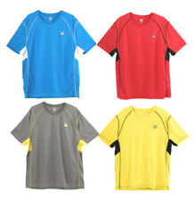 Youth Casual Top Moisture Wicking Tee Mens Short Sleeve Gym Shirts Dri-Fit Xs-Xl