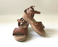 Old Navy Brown Toddler Girl Wedge Sandals Size 6