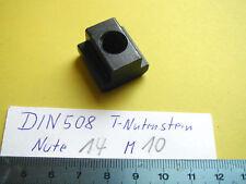 DIN 508 Muttern für T-Nute, T-Nutensteine AMF Nute 6,8,10,12,14,16,18,20,22mm