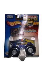 2002 Hot Wheels Monster Jam #28 Black Stallion 1:64Die Cast Truck NIP K