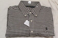 RALPH LAUREN POLO CUSTOM FIT BUTTON DOWN CHECK SIZE XL NEW WITH TAGS RRP £85