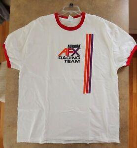 Aurora AFX Slot Car T-Shirt (Size 2XL) Brand New Pre Shrunk