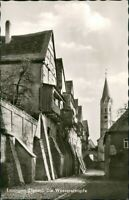Ansichtskarte Lauingen (Donau) Straßen Anischt i.d. Wasserschapfe 1960/1965