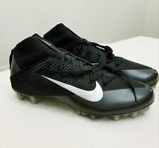 Nike Vapor Untouchable 2 Flyweave Football Cleats Black 824470-002 Size 16