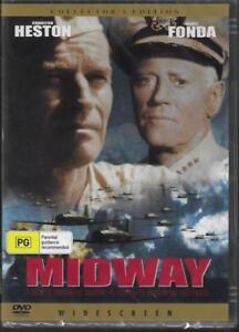 Midway DVD Henry Fonda New Sealed Australian Release