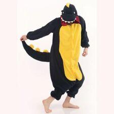 Sazac Black Dinosaur Kigurumi - Adult Costume - Regular Size F
