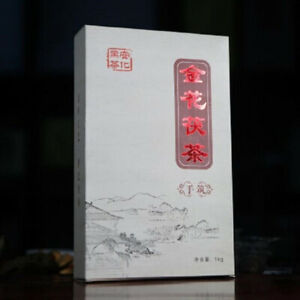1000g China Hunan Anhua 12 Years Dark Tea Handmade Dark Tea Brick Healthy Drink