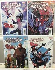 The Amazing Spider-Man & Silk Complete Set #1-4 VF Marvel Comic Run Lot