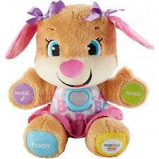 Fisher-Price Laugh &Learn Smart Stages Sis Plush Toy with 75+Songs & Sounds GIRL