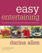"""VERY GOOD"" Darina Allen, Easy Entertaining, Book"