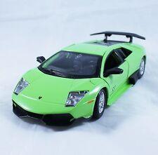 TC27G Lamborghini LP 670-4 MURCIELAGO SV 1:24 1/24 Green Diecast Model Model Car