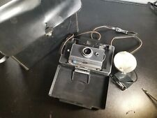 Vintage Polaroid Automatic 100 Land Camera with Case and Flash