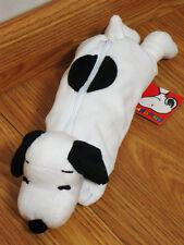 Snoopy Black&White Pen Pencil Case Bag Pouch Purse Peanuts Gang Full Body #001