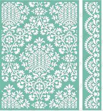 Cuttlebug 5x7 Embossing folder & Border - Ogee Damask - 2002113