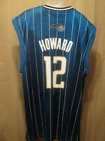 ADIDAS Mens Basketball Jersey NBA Orlando Magic,XL,Dwight Howard 12 Authentic