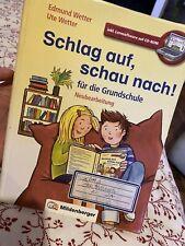 Schlag auf, schau nach!. Wörterbücher und CD-ROM für die Grundschule / Schlag...